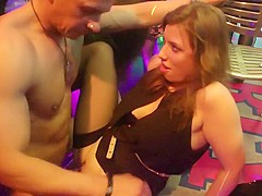 Incredible pornstar in crazy group sex, brunette adult video