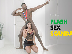 Maya Bijou in Flash Sex Scandal - BlackIsBetter