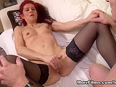 Hottest pornstar in Best Stockings, Small Tits xxx movie