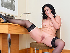 Montse Swinger in Sexy Business Lady - Anilos