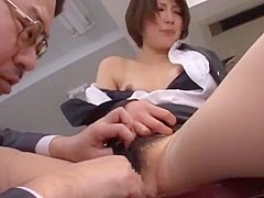 Hottest Japanese chick Ryo Sena in Amazing Fingering JAV video