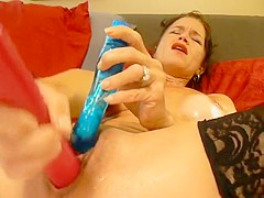 Pussy Play With Dp Dildo Play With Wet Finish