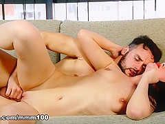 Karolina & Sylvan in Casual Sex In The Street - MMM100