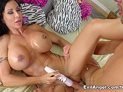 Horny pornstars Jessy Jones, Jewels Jade in Hottest Anal, Brunette xxx movie