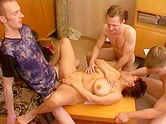 Crazy Homemade record with Gangbang, Big Tits scenes