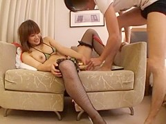 Fabulous Japanese model Nao Kamiki in Horny Big Tits, Stockings/Pansuto JAV movie