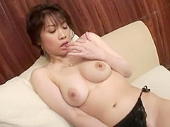 Amazing Japanese chick Natsuki Mochida in Crazy Dildos/Toys, Big Tits JAV clip