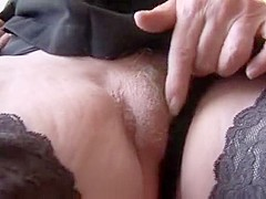 Fabulous Amateur clip with Masturbation, Stockings scenes