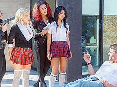 Luna Star & Toni Ribas in Blood Sisters Scene 2 - DigitalPlayground