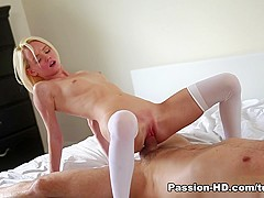 Amazing pornstar Sammie Daniels in Fabulous Stockings, Small Tits sex movie