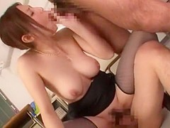 Crazy Japanese girl Yuna Shiina in Exotic Doggy Style JAV video