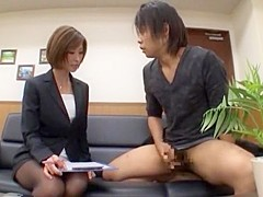 Incredible Japanese chick Akari Asahina in Fabulous JAV clip