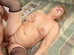 Incredible pornstar in amazing blonde, mature xxx video
