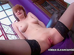 Fabulous pornstar Abbey Rain in Best Solo Girl, Redhead xxx video