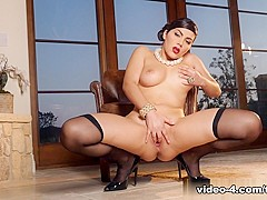 Fabulous pornstar Valentina Nappi in Incredible Brunette, Big Ass sex video