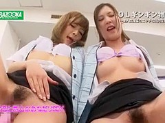 Amazing Japanese whore Fuuka Minase, Aika Nose, Anna Kisa in Hottest JAV movie