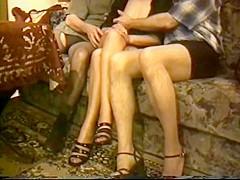 Amateur bi-sex in nylons  part 1