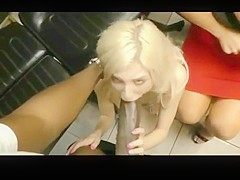 Big Black Cock addicted mother and daughter