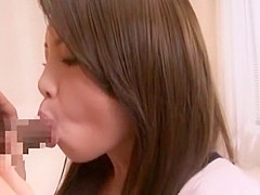 Crazy Japanese girl Marimi Natsusaki in Hottest Blowjob/Fera JAV scene