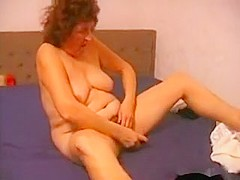 Horny Homemade clip with Toys, Mature scenes