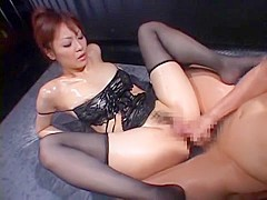 Incredible Japanese slut Natsumi Horiguchi in Hottest Facial, Fingering JAV clip