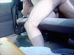 orgasm clos-up car