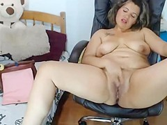 Pure looking girl on her free monday - happy orgasm   squirt