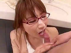 Amazing Japanese girl in Incredible Gangbang JAV scene