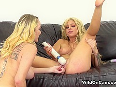 Exotic pornstars Leigh Rose, Madelyn Monroe in Crazy Big Tits, Tattoos xxx video