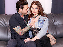 Joanna Angel & Ivy Lebelle & Small Hands in Boobs and Oil, Scene #01 - BurningAngel