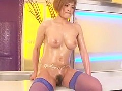 Crazy Japanese girl Rio Fujisaki in Horny Big Tits, Stockings/Pansuto JAV movie