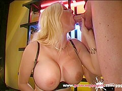 Melanie Moon Super Big Tits and Cum Covered - German Goo Girls