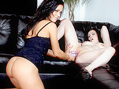 Mandy More & Sophia Leigh in Shy Sophia Lynn Gets Lesson In Lesbian From Mandy More - BestGonzo