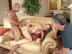 Fabulous pornstar Syren De Mer in crazy voyeur, big tits porn movie