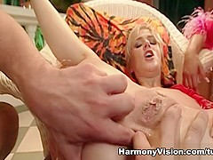Angel Dark & Jane Darling in Sharing The Load - HarmonyVision