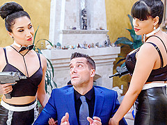 Mercedes Carrera, Vicki Chase & Ramon Nomar in Blood Sisters Scene 4 - DigitalPlayground