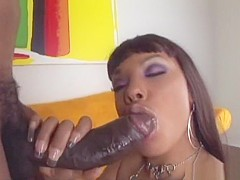 Best pornstar in crazy big butt, black and ebony porn clip