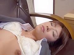 Crazy Japanese chick Reiko Kobayakawa, Rei Kitajima, Misa Yuuki in Best Fingering, Doggy Style JAV c