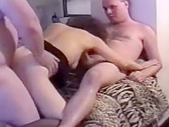 Brunette In Doggy-Style Fucking And Drawing With Two Horn