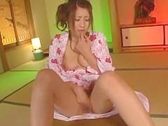 Best Japanese girl Hitomi Kitagawa in Incredible Masturbation/Onanii JAV clip