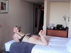 32y british gf hotel meet - first fuck of the night