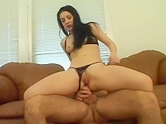 Crazy pornstar Renee Pornero in amazing brunette, cumshots sex video