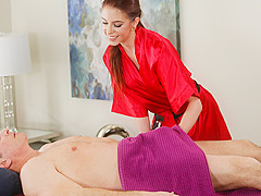 Anna De Ville & John Strong in Unfaithfully Yours - FantasyMassage
