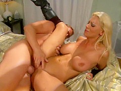 Hottest pornstar in best blonde, big tits sex clip