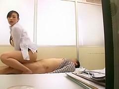 Amazing Japanese girl Yuki Natsume, Nana Usami, Shizuka Kanno in Horny Medical, Cunnilingus JAV movi