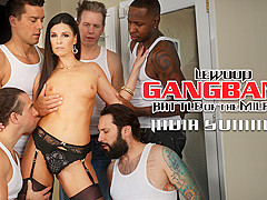 India Summer & Mark Wood in MILF Next-Door India's DP Gang Bang - EvilAngel