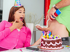 Carolina Sweets & Sean Lawless in Blowing The Birthday Cock - Pure18