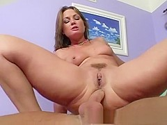 Hottest pornstar Flower Tucci in horny anal, facial porn scene