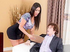 Makayla Cox & Robby Echo in Seduced By The Boss's Wife #08 - DevilsFilm