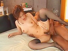 Best Japanese whore in Exotic Threesomes, Facial JAV video